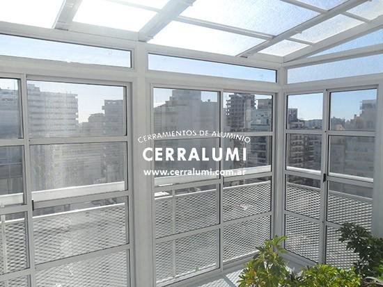 Rejas para balcones - Cerramientos de aluminio para balcones ...