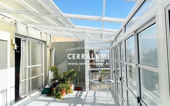 Cerramientos de terrazas carpinteria en aluminio - Cerramientos de terraza ...