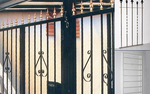 las rejas de hierro son elementos de seguridad para la inseguridad que se vive en la actualidad las rejas se encuentran totalmente reforzadas